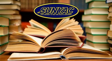 books and the sunyac logo