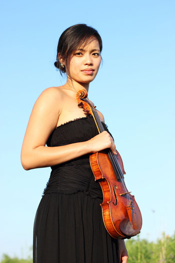 violinist Jessica Tong