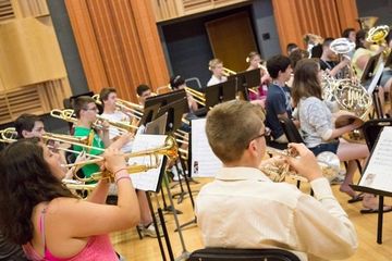 Students perform at Fredonia summer music camp