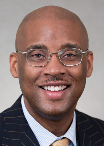 Cedric Howard, Vice President for Enrollment and Student Services