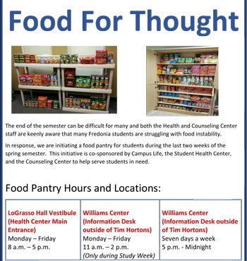 Food for Thought : Why We Serve