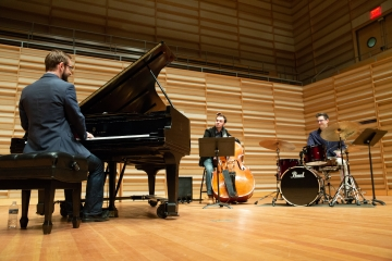 trio concert at Rosch