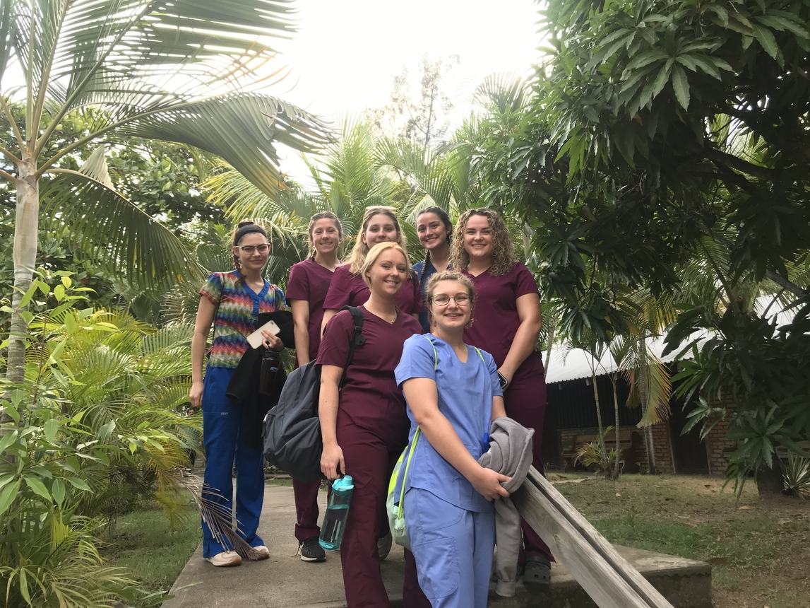 Fredonia students in Honduras