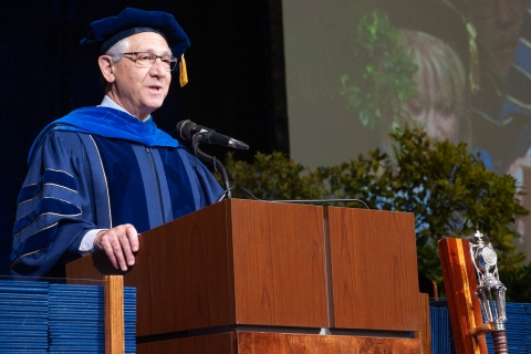 Dr. Michael Marletta, 2018 Commencement keynote speaker.