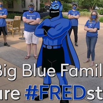 It's the first day of classes!  We've got this, Big Blue Family! Let's stay #FREDstrong by taking COVID and our studies seriously. Together, we can have a successful semester! #fredonia #sunyfredonia