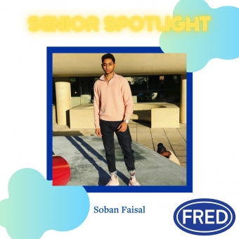 Check out our story for #SeniorSpotlight to meet Soban Faisal! @sobs21