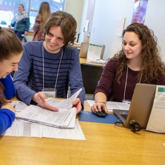 """""""Fredonia's accounting program ranked among best in New York State""""  The School of Business recognized for its high-quality accounting program. Details available by clicking the link in our bio."""