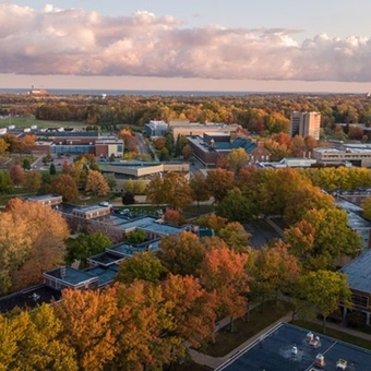 """The news is out! @fredoniau is again a """"Best College!"""" Fredonia moved up the rankings on multiple lists from U.S. News and World Report. Fredonia is now 14th among all public institutions in the north! Read all about it by clicking the link in our bio."""